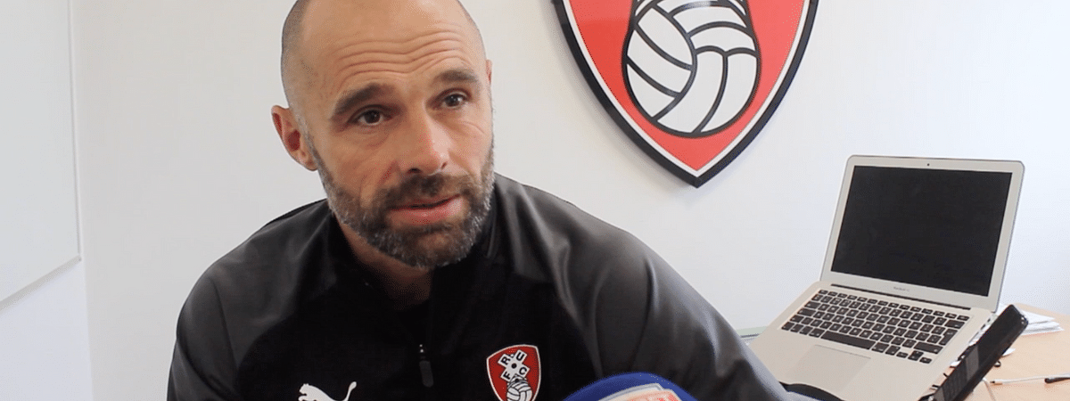 Paul Warne, Manager, Rotherham United