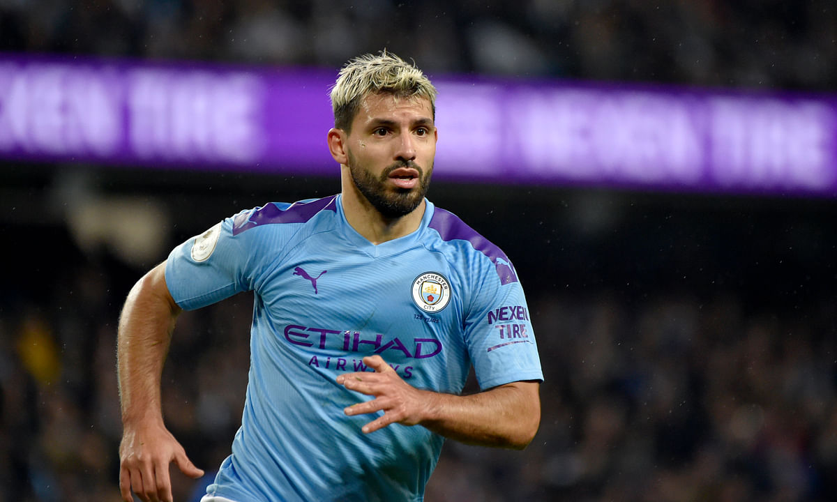 Premier League injury: Manchester City striker Sergio Aguero out 'a few weeks,' says Pep Guardiola