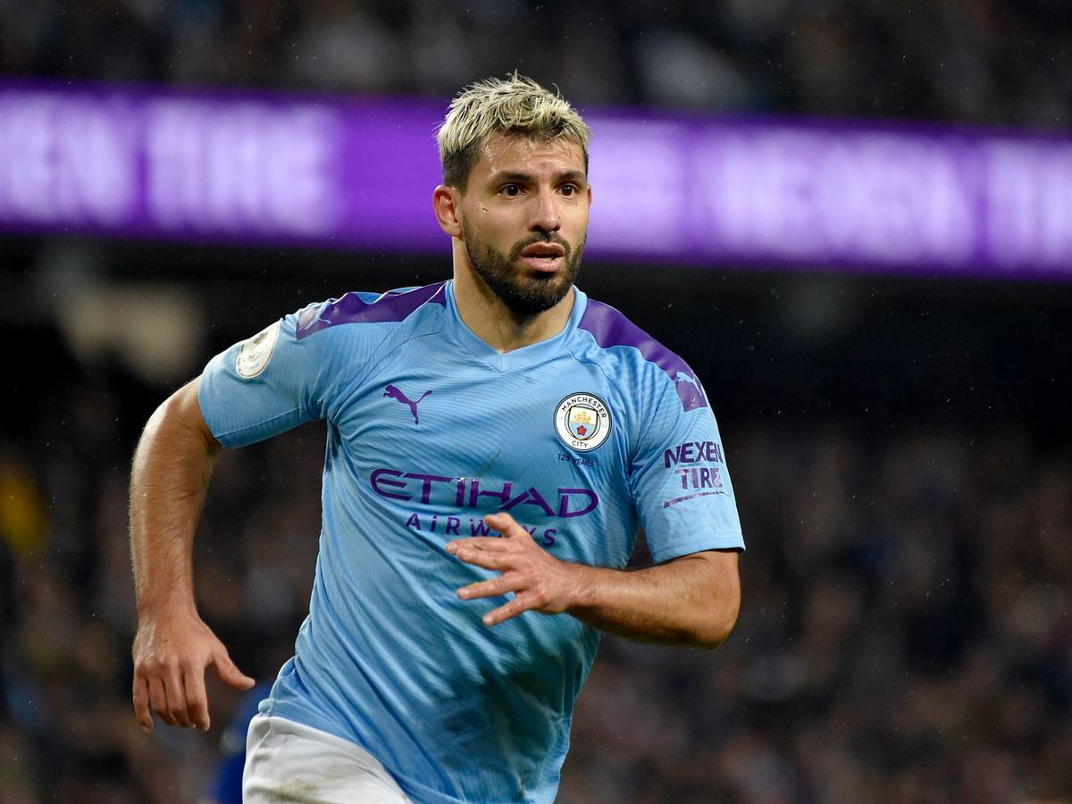 Premier League injury: Manchester City striker Sergio Aguero out 'a few weeks,' says Pep Guardiola