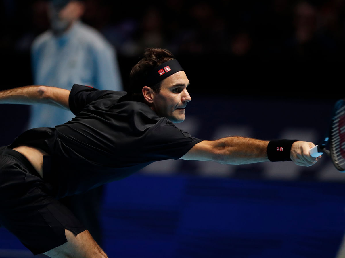 Tennis: Roger Federer beats Matteo Berrettini for first win at the ATP World Tour Finals