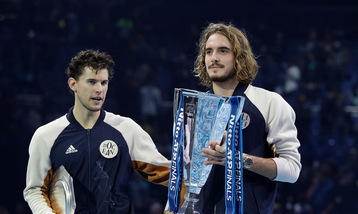 Stefanos Tsitsipas beats Dominic Thiem in 3 sets to win ATP Finals title