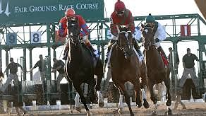 Garrity picks Friday Dad's Hat Happy Hour races at Aqueduct, Oaklawn, Santa Anita, Gulfstream, Fair Grounds