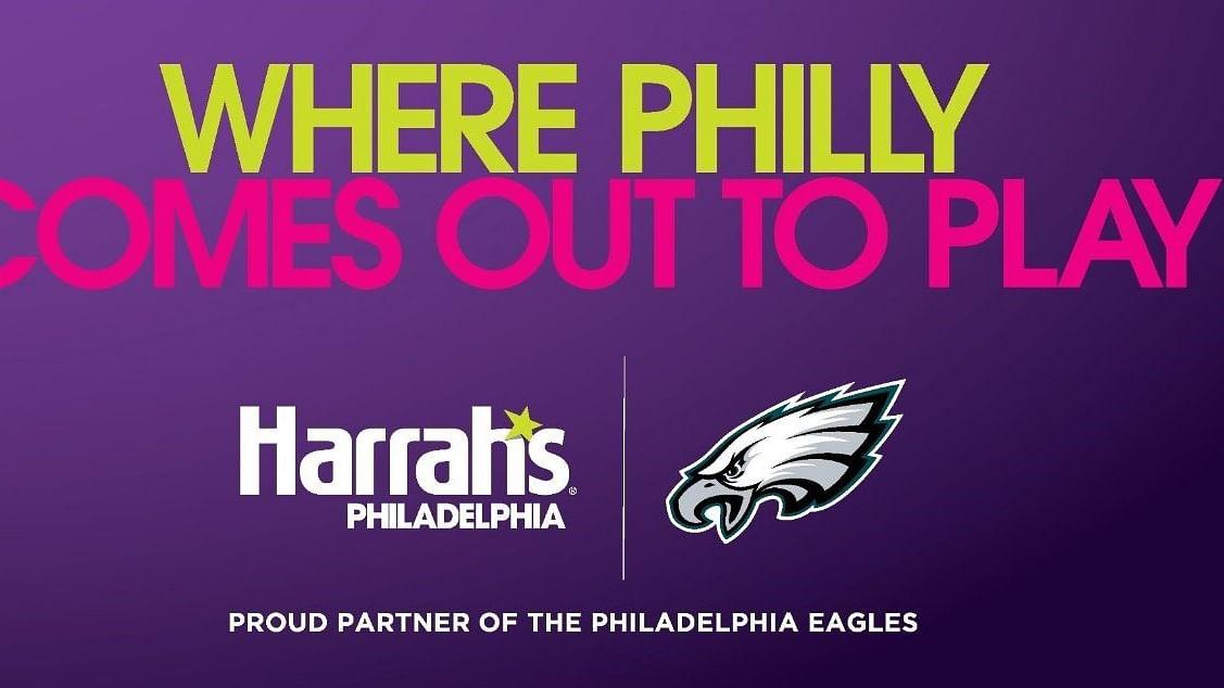 Eagles and Harrah's Philadelphia team up for new marketing partnership