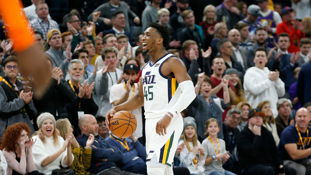 Center of Detention: Utah Jazz star Donovan Mitchell tests positive for coronavirus, with assist from Rudy Gobert