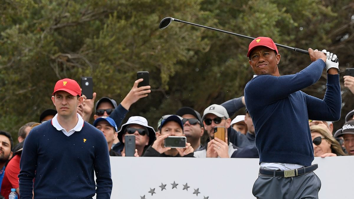 Golf: Kern picks the Presidents Cup and has a couple of Tiger Woods bets