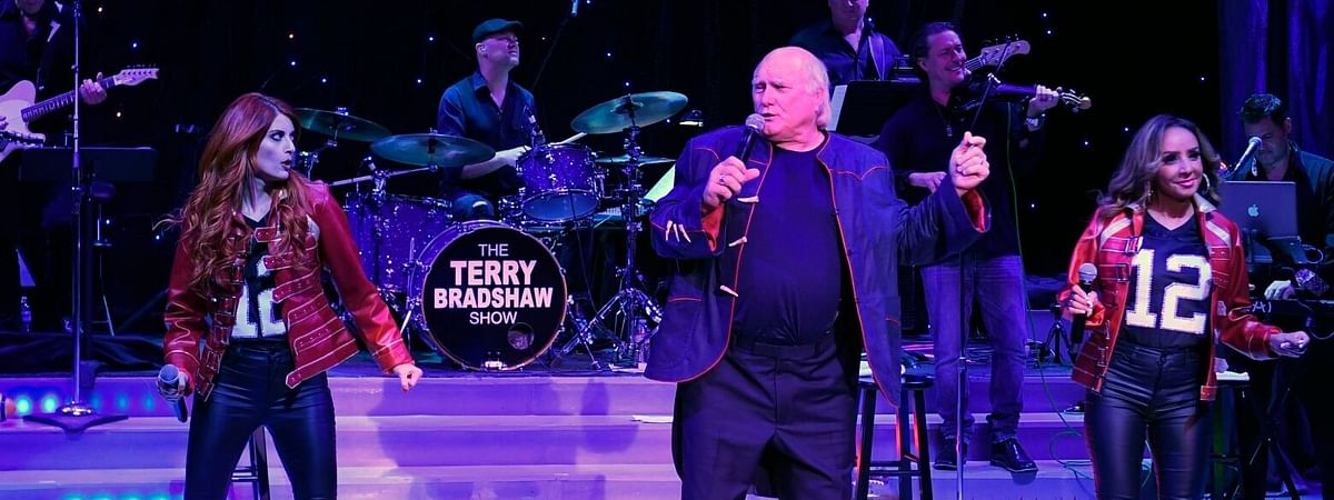 Terry Bradshaw performs Friday night at the Borgata.