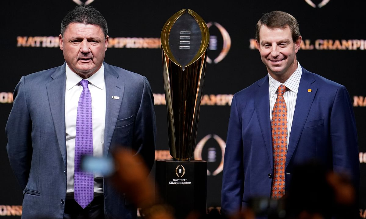 Mike Kern picks the National Championship, LSU vs Clemson, and he's liking the Tigers