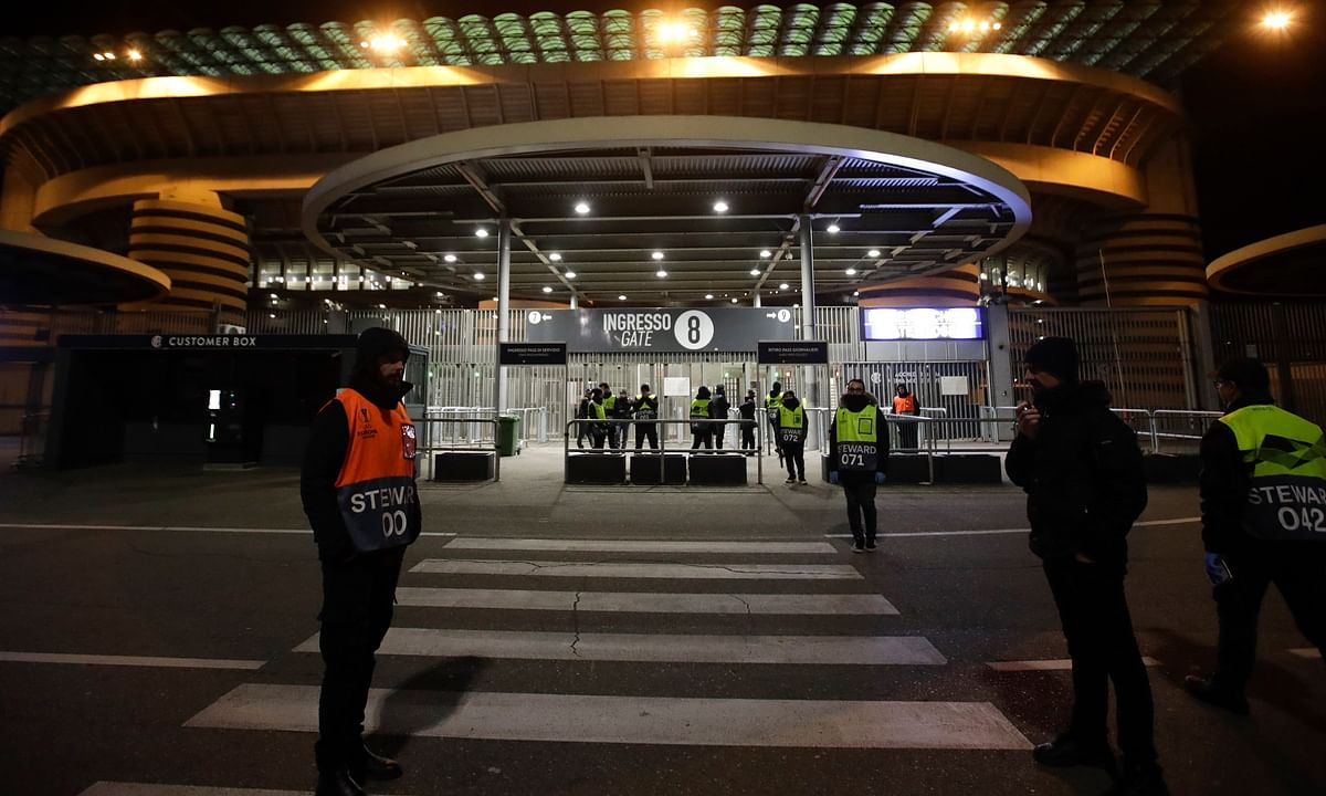 Due to Coronavirus, Serie A announces Juventus-Inter will be played in empty stadium