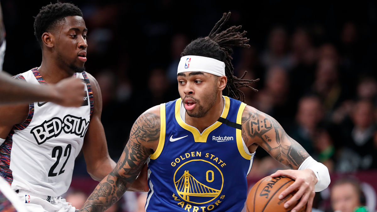NBA Trade: Warriors not done yet, send D'Angelo Russell to Timberwolves for Andrew Wiggins