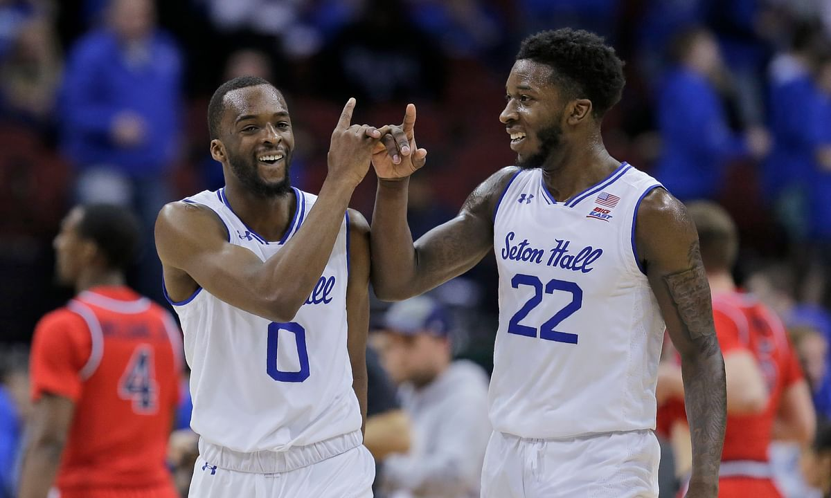 With the Big East title on the line, Seton Hall is at Creighton and Eckel is looking for big game from Myles Powell