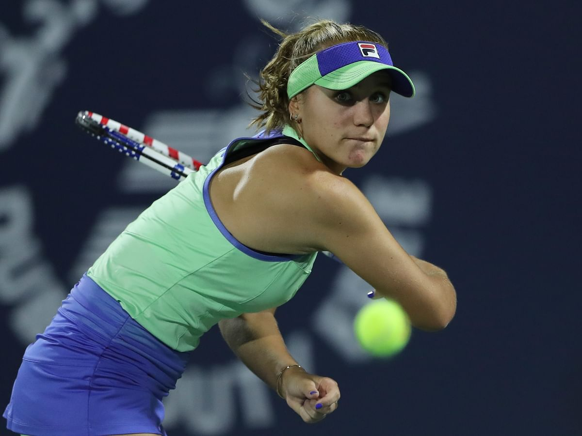 Sofia Kenin is one of Neal Abrams' Top 5 young women's tennis stars to watch in 2020 (2 of 5)