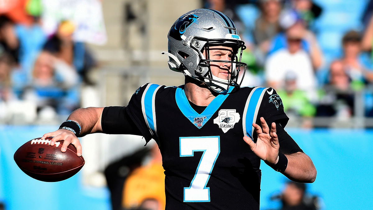 AP source: Redskins acquire QB Kyle Allen from Panthers