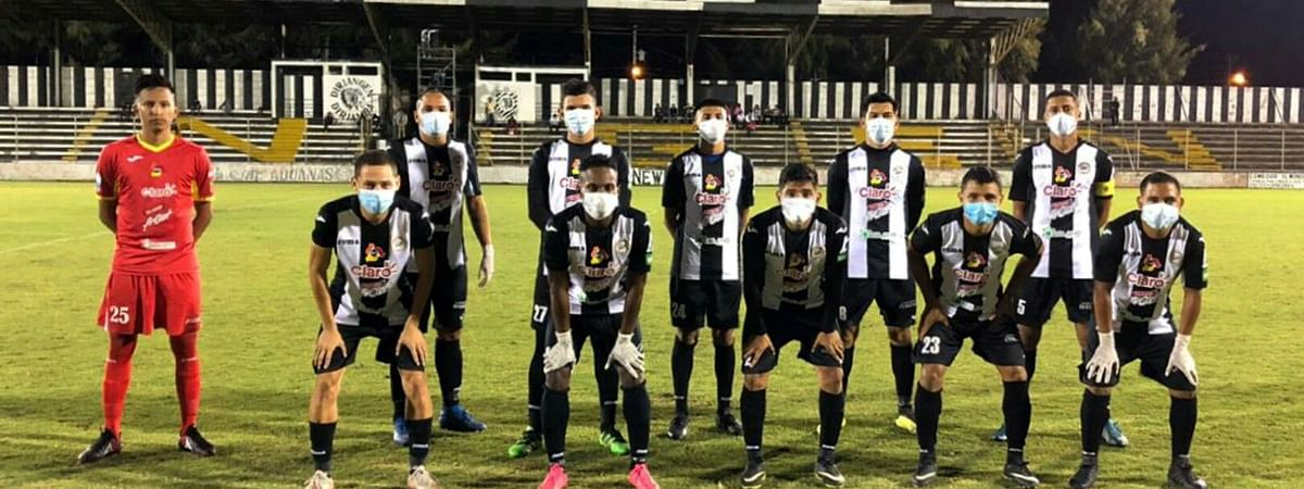 Who are those masked men? Diriangen FC