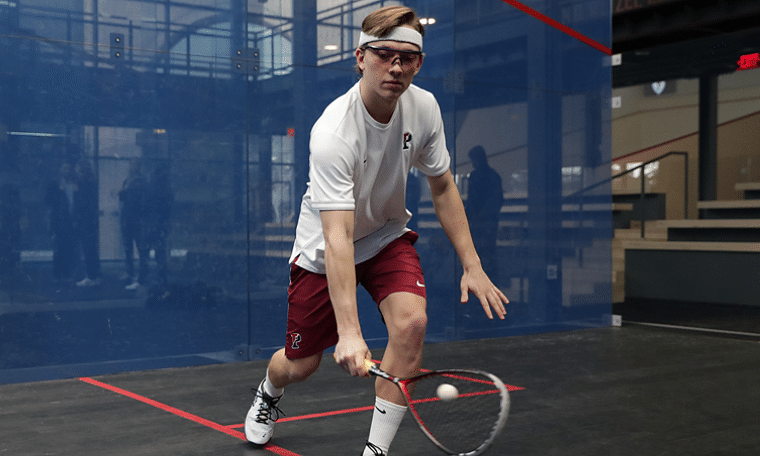 Racket Man Neal Abrams weighs in on Harvard's dominance in college squash, Penn's win over Trinity and why the game is gaining in popularity