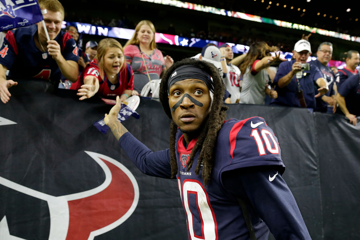 In NFL Day 1, trades dominate, including DeAndre Hopkins to Arizona