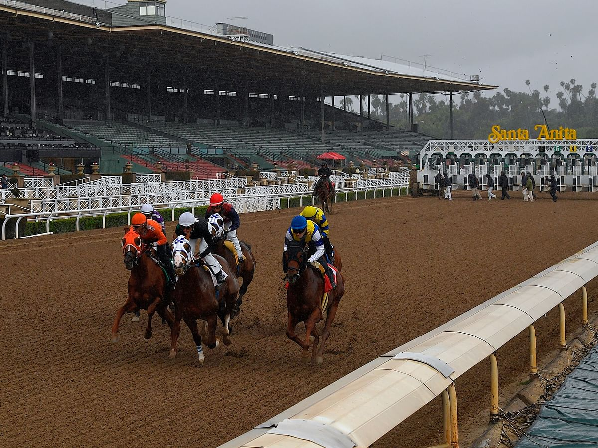 Plenty of horse racing action — Garrity picks races at Gulfstream Park, Oaklawn Park, and the Sensational Star stakes race at Santa Anita