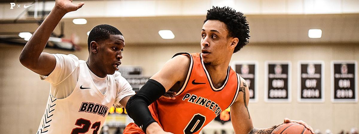 Princeton Basketballs' Jaelin Llewellyn
