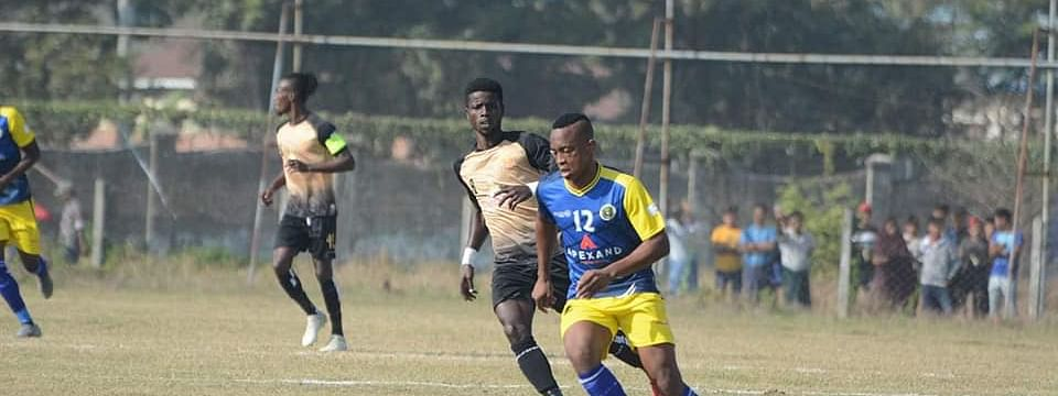 Chin United FC in action