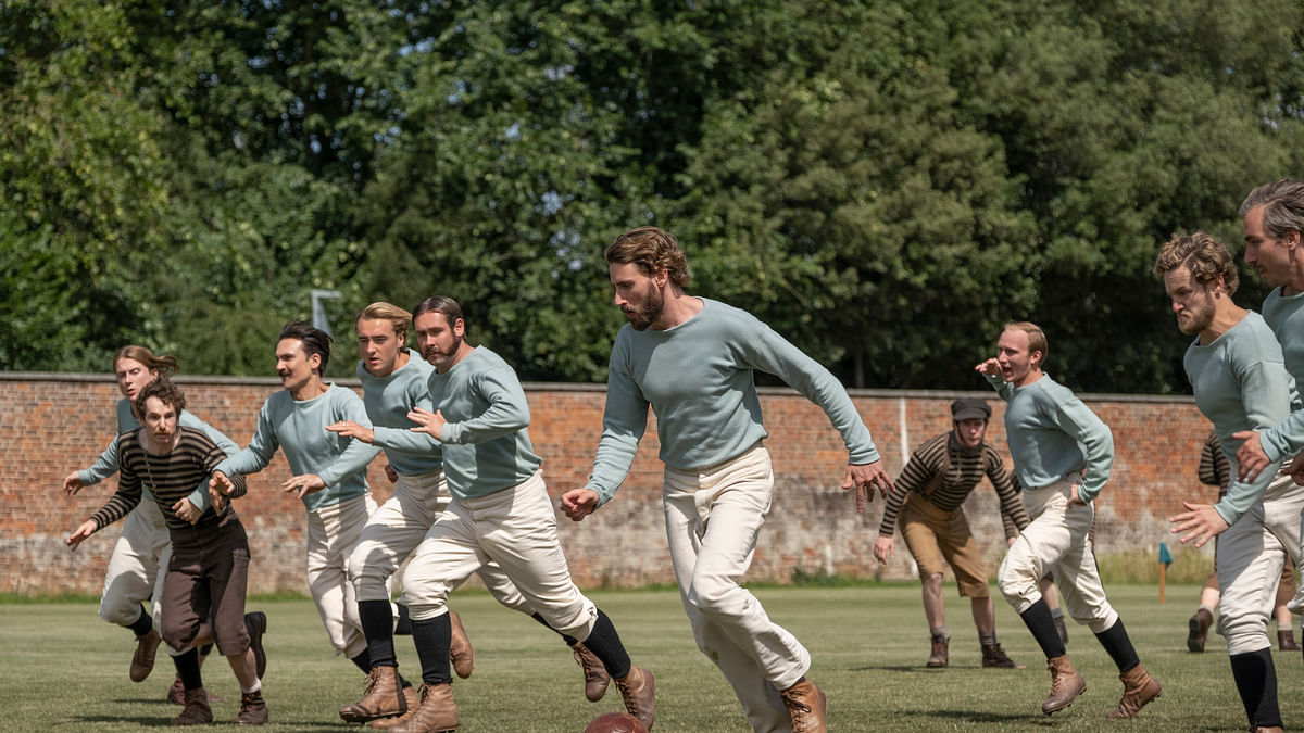 'Downton Abbey' creator turns to the beautiful game with new show about the origins of soccer