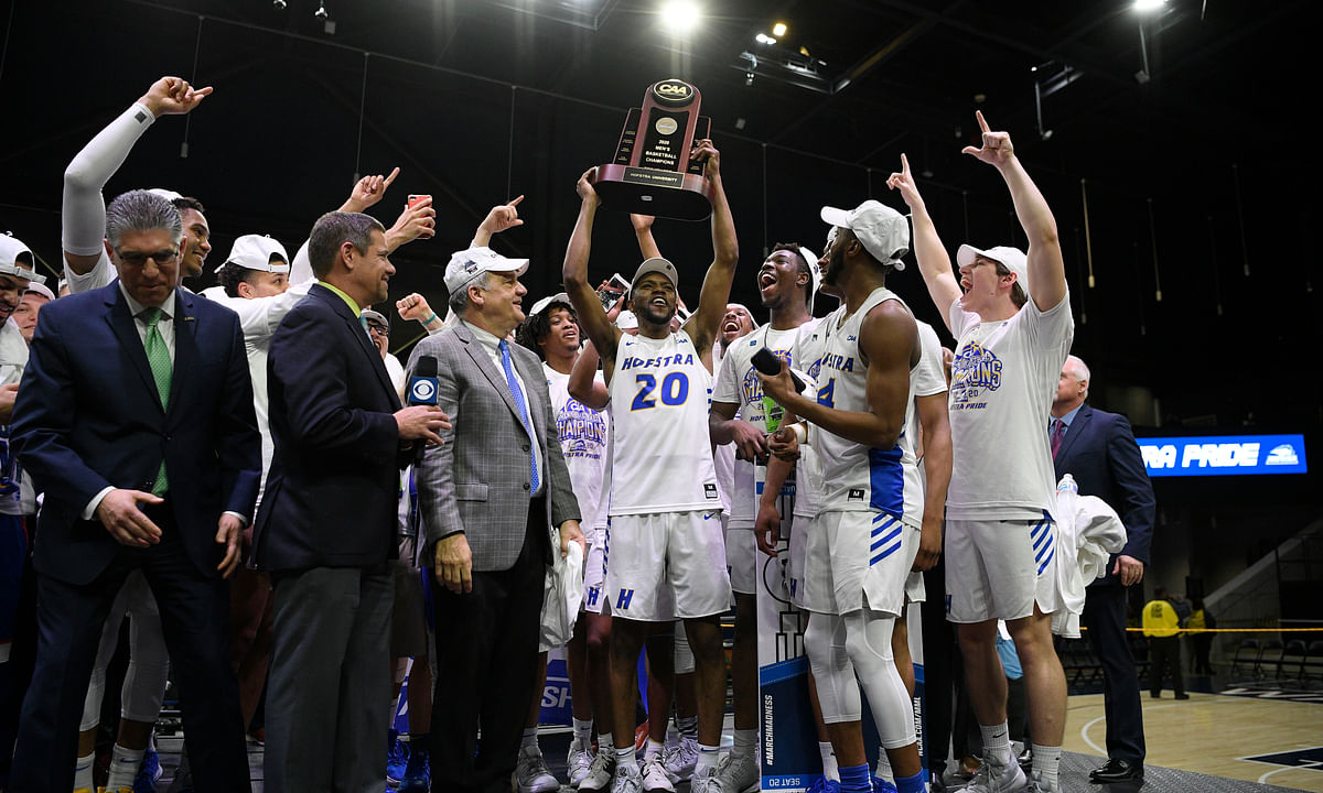 Joe Mihalich's Hofstra squad is back in the Big Dance after topping Northeastern 70-61 to win CAA
