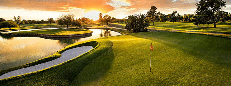 The Wigwam Gold Course, site of this week's Golden State Tour tournament.