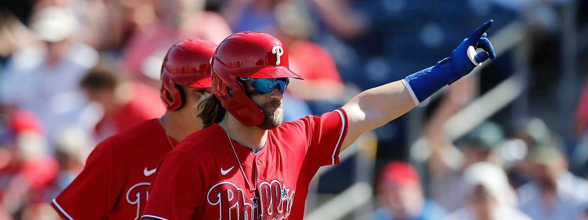 Phillies right fielder Bryce Harper will have one more manager on his major league resume once baseball kicks off