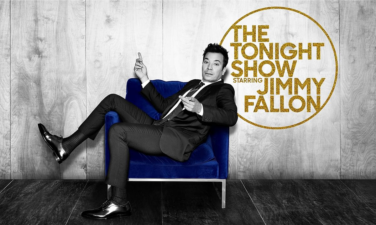 Jimmy Fallon won't be high-fiving any audience members starting Monday night.
