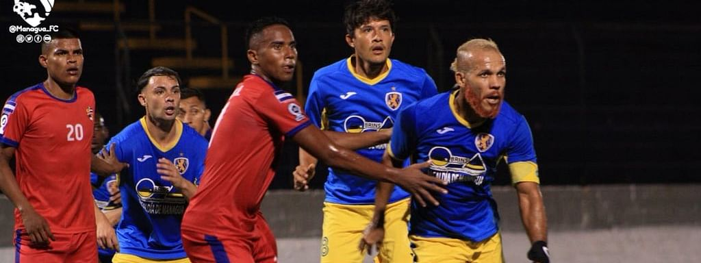 Managua Fútbol Club in action
