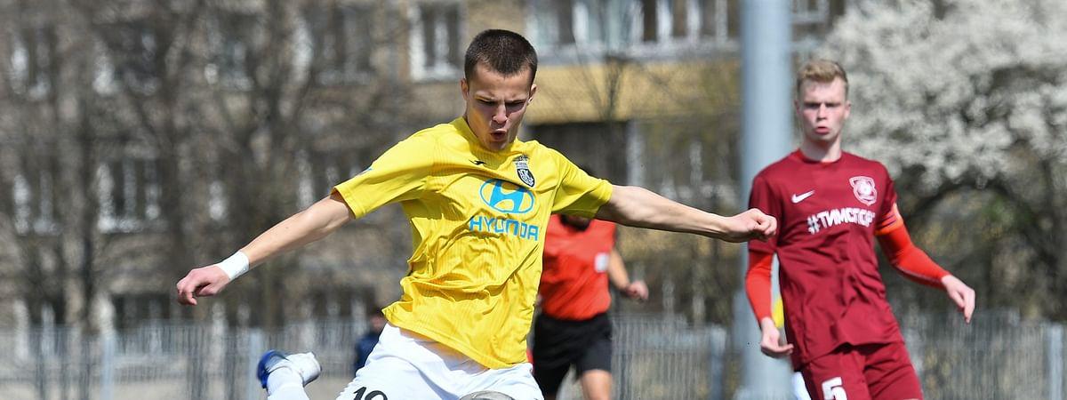 FC Isloch Minsk Raion in action