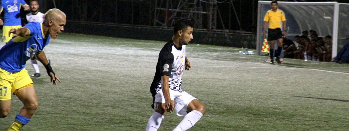 Cacique Diriangén F.C. in action vs Managua FC on March 28, 2020.
