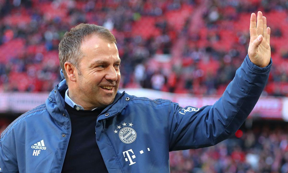 Bayern Munich gives coach Hansi Flick permanent deal through 2023