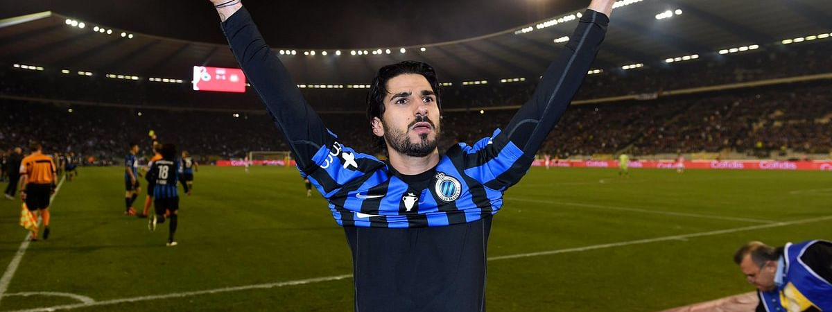Lior Refaelov, pictured on Club Brugge, now plays for Royal Antwerp.
