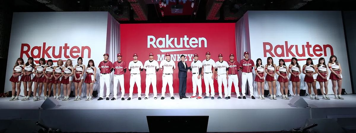 The Rakuten team announcement in the days before social distancing.