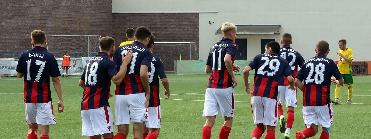 FC Minsk in action