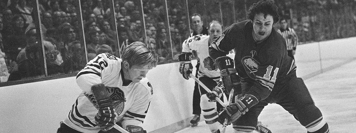 The late Pat Stapleton (left) was on three of the Chicago Black Hawks teams that played in the Western Division with the Flyers