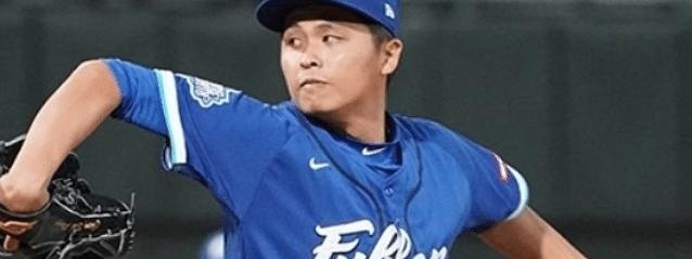 Fubon starter Chen Shih-Peng.