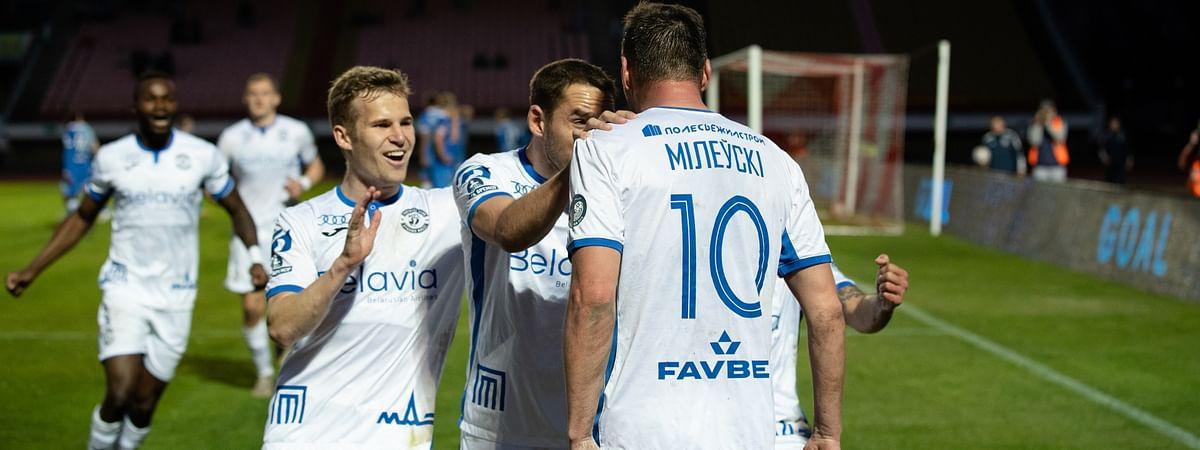 Dynamo Brest in action.