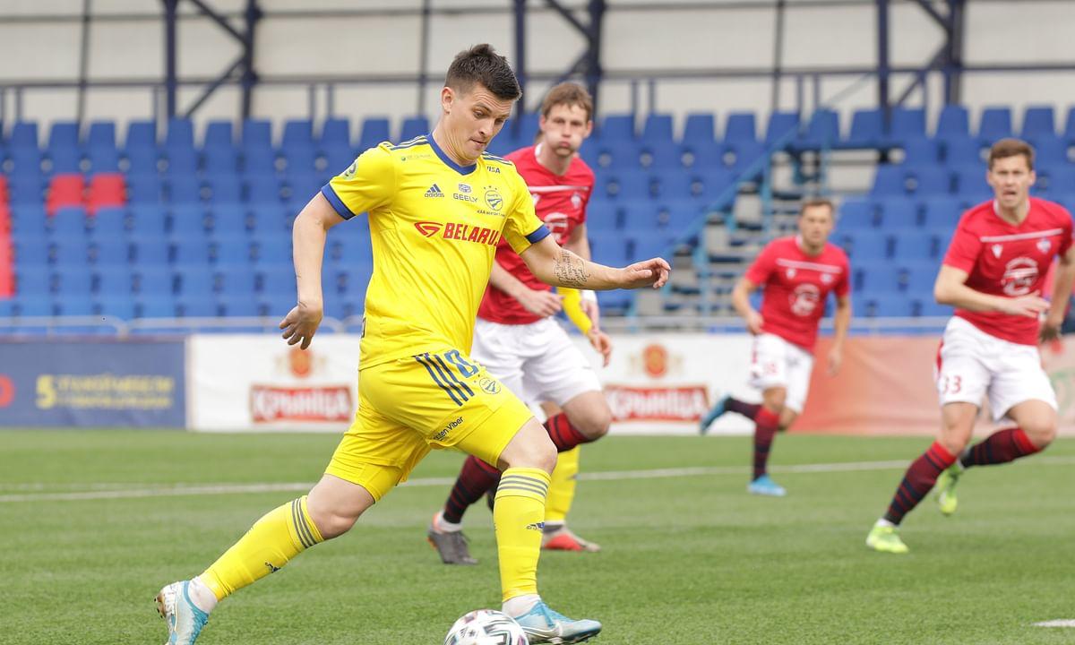 Belarus Cup Semis 2nd Leg: BATE Borisov vs Slavia Mozyr as BATE seeks to overcome a 1-0 deficit a home