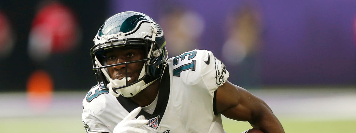 Nelson Agholor, now off to the Raiders via free agency, was the last wide receiver drafted in the first round by the Eagles (2015)