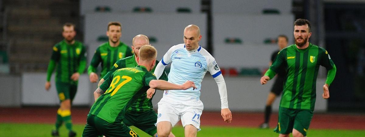 Dinamo Minsk in action