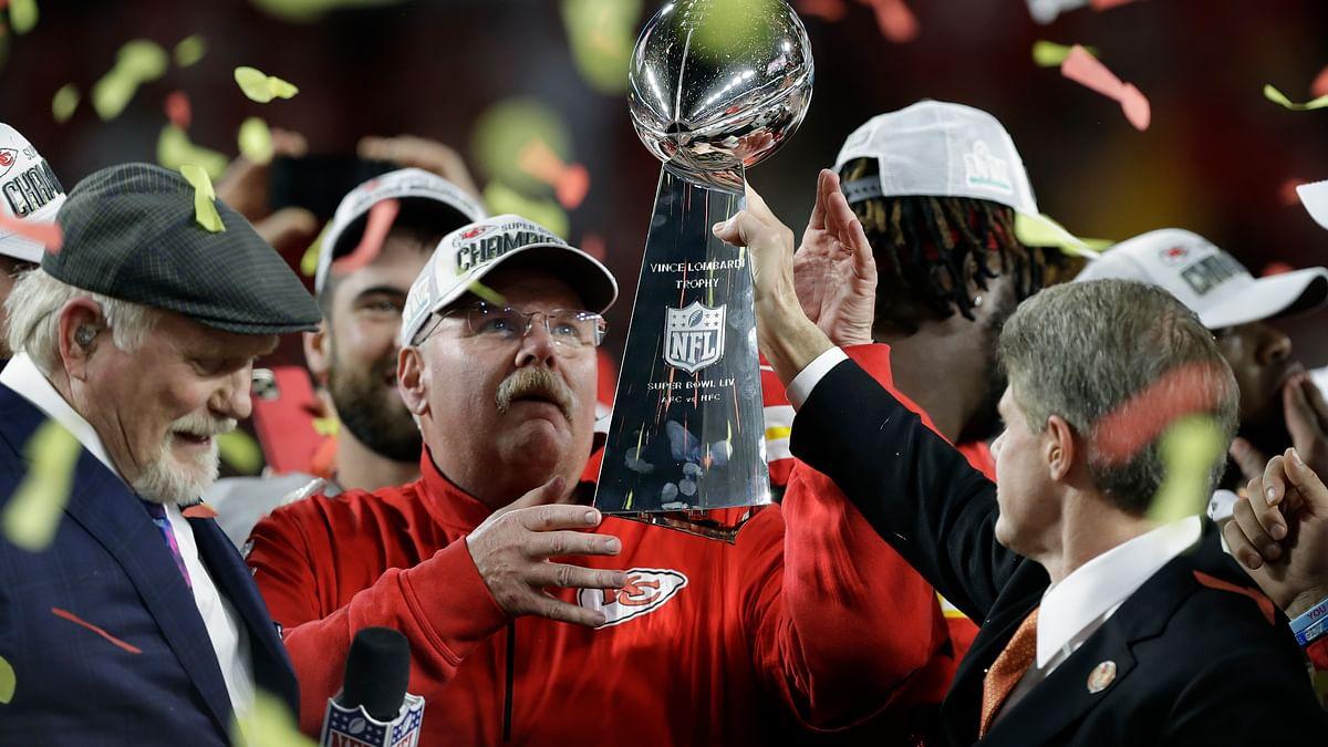 Goo goo g'joob — Andy Reid is plotting Chiefs' Super Bowl defense from his basement