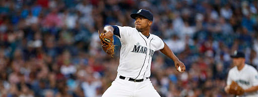 Former Seattle Mariner Ariel Miranda starts today for the Chinatrust Brothers.
