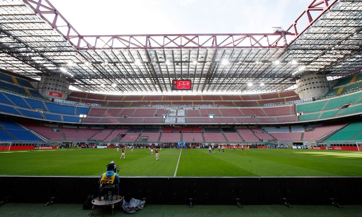Italian government sets May 18 return for Serie A league soccer training