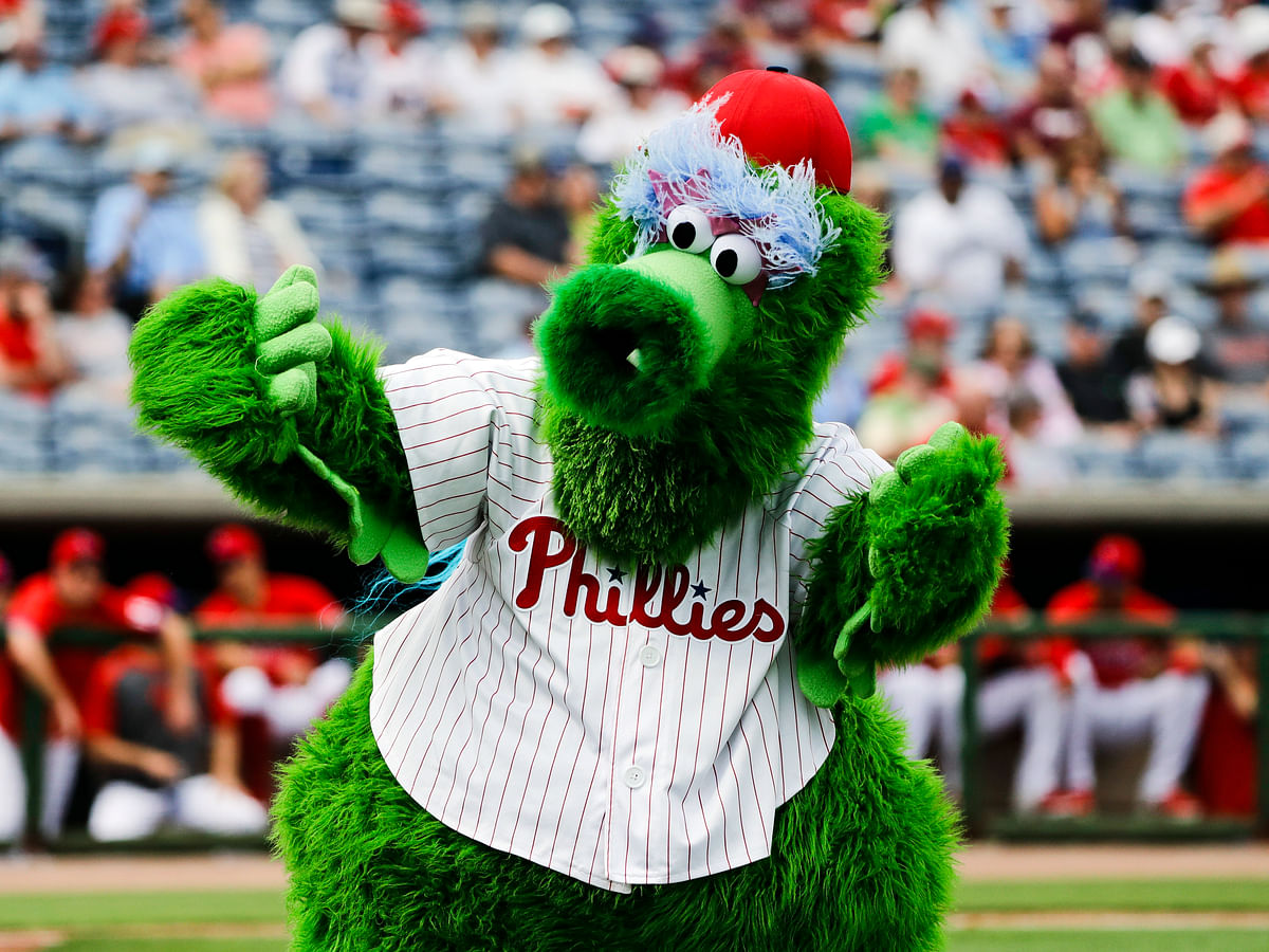 Down goes the Phanatic! Mascots banned from MLB when (and if) play resumes