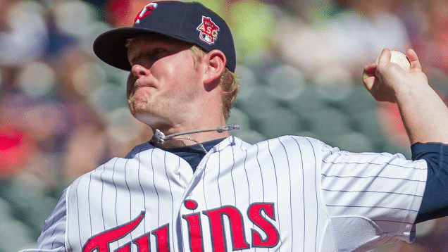 Logan Darnell pitched for the Twins in 2014. He makes his Uni debut tonight, weather permitting.