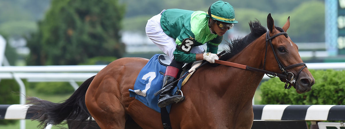 Dunbar Road easily won the Alabama Stakes at Saratoga last June, but Garrity is betting against him in the Shawnee.