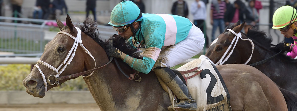 Another Broad won the Top Flight last April at Aqueduct, but at Churchill Downs, RT and SmartCap are picking another broad, She's A Julie.