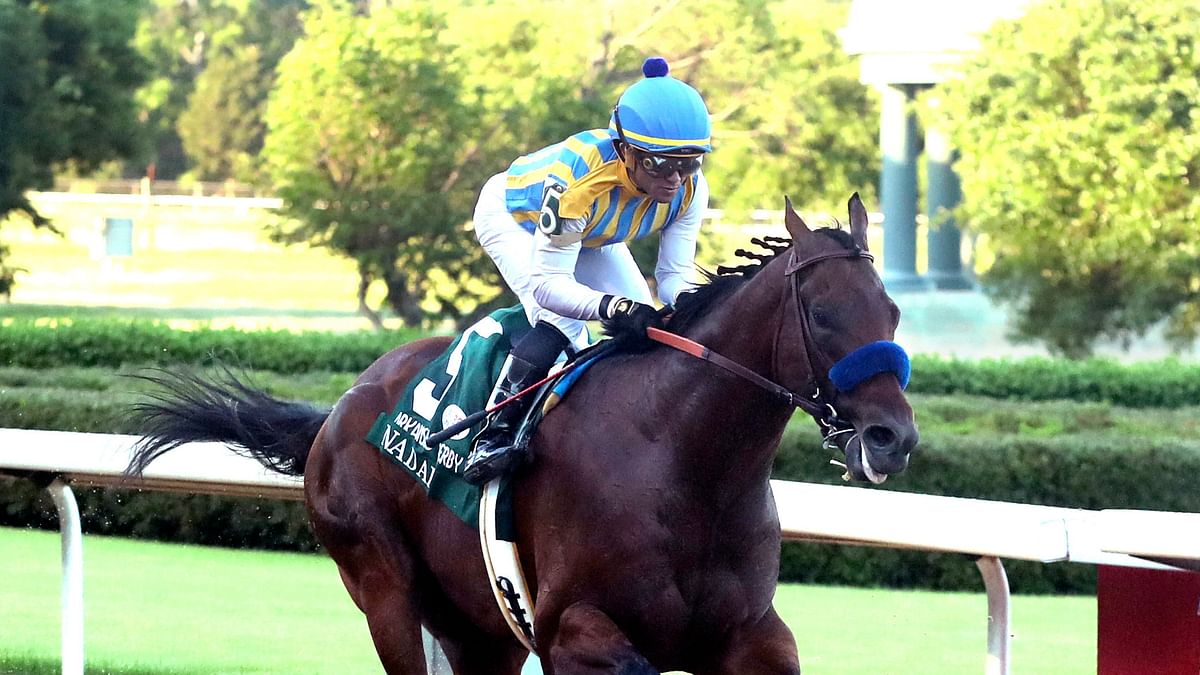 Charlatan, Nadal give Bob Baffert sweep in Arkansas Derby at Oaklawn Racing Casino Resort