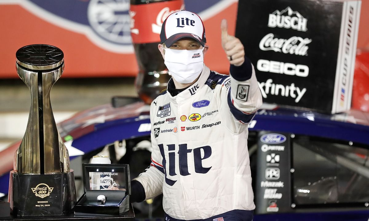 NASCAR News: Brad Keselowski gets win; Chase Elliott loses two races in four days; Jimmie Johnson's three-year losing streak continues