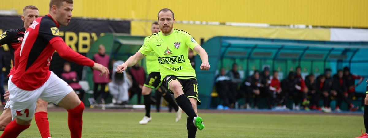 FC Shakhtyor Soligorsk in action